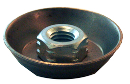 Donahue-Industries_disc-wheel-inserts_grinding-wheel-inserts-manufacturer_disc-cup-insert-with-assembled-hex-nut